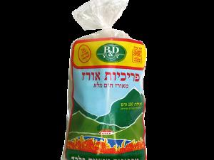 פריכיות אורז עם מלח - B&D