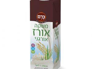 5 יח' משקה אורז אורגני - כרם