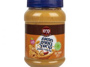 """חמאת בוטנים קראנץ' - כרם 1ק""""ג"""